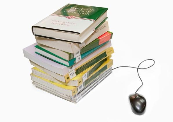 Libros y ratón