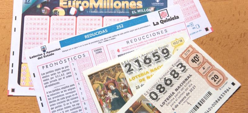 premios de lotería en España