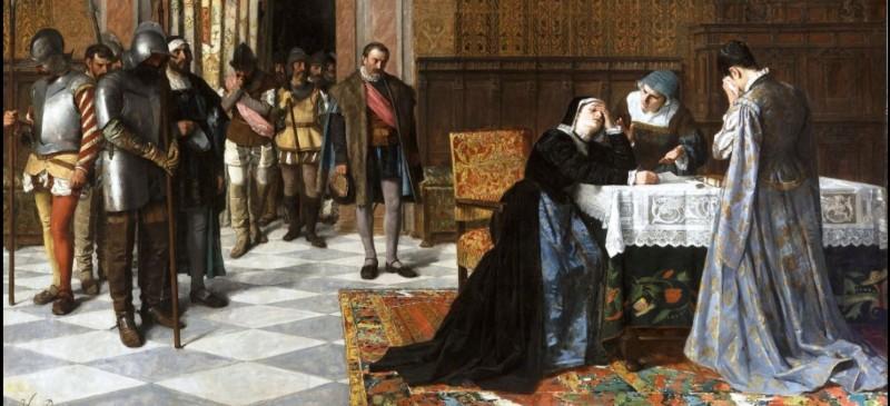 María pacheco,cuadro del Museo del Prado