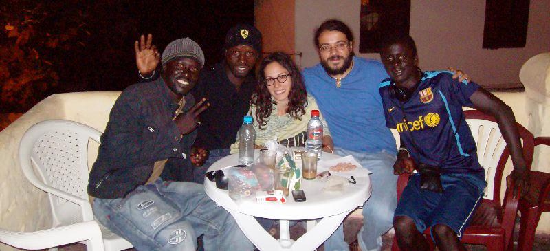 Javier Diz en Marruecos