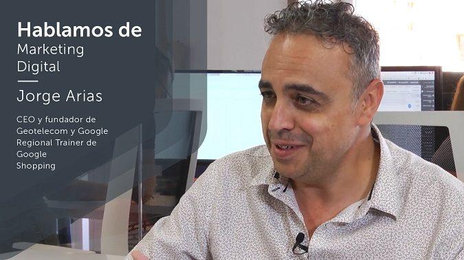 Jorge Arias, CEO de Geotelecom