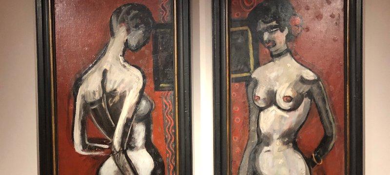 'Perversidad', Museo Carmen Thyssen en Málaga.