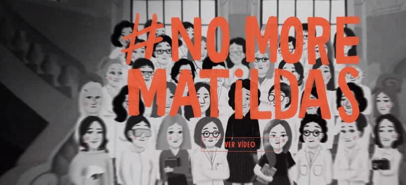 No mas Matildas. Parte del vídeo de la asociación