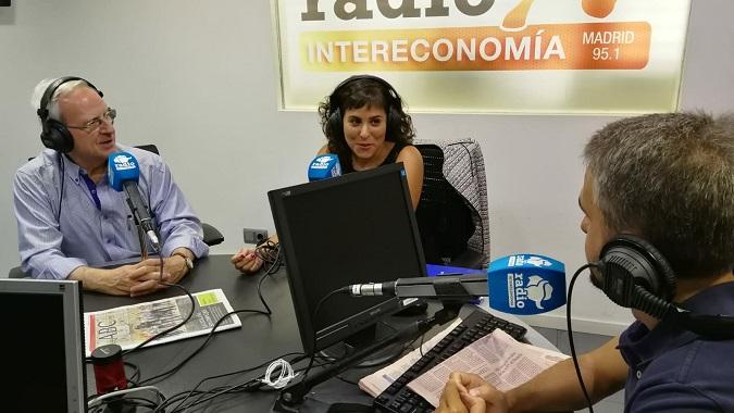 Nuria Puente en el Programa Capital de radio
