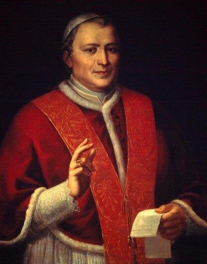 Pintura Pio IX
