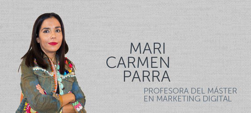 Mari Carmen Parra, profesora de la asignatura Gestión de Comunidades 2.0