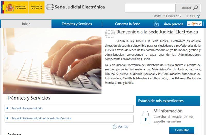 Señalamientos de juicios mediante la Sede Judicial Electrónica