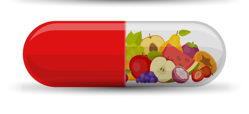 vitamina con frutas