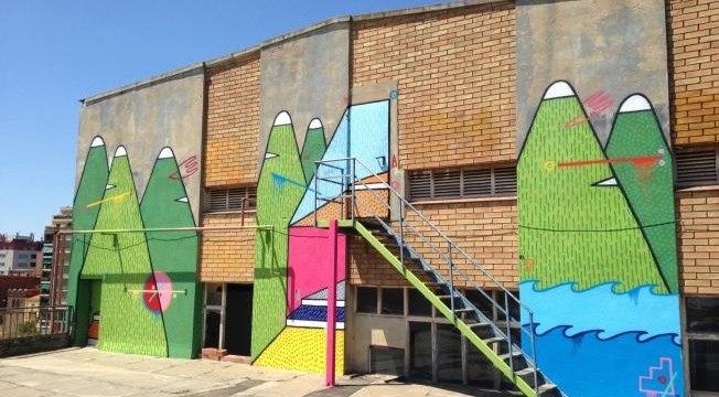 Bostik Murals, un Museo de arte urbano al aire libre.