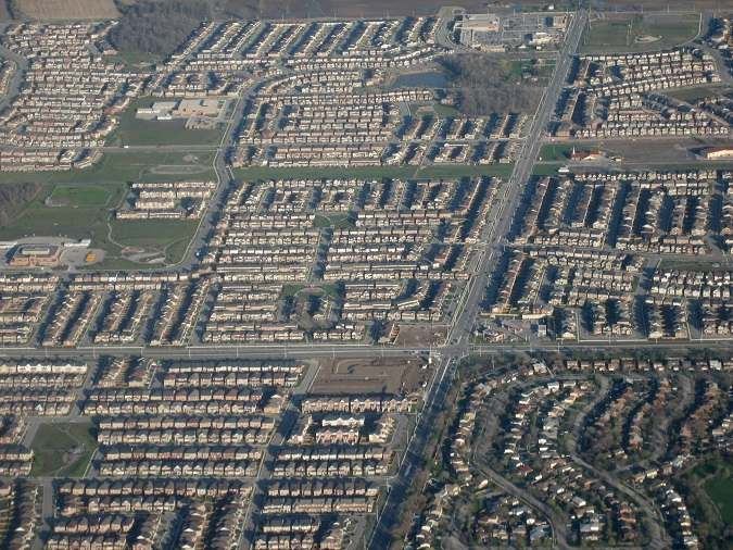 Ejemplo de Urban Sprawl