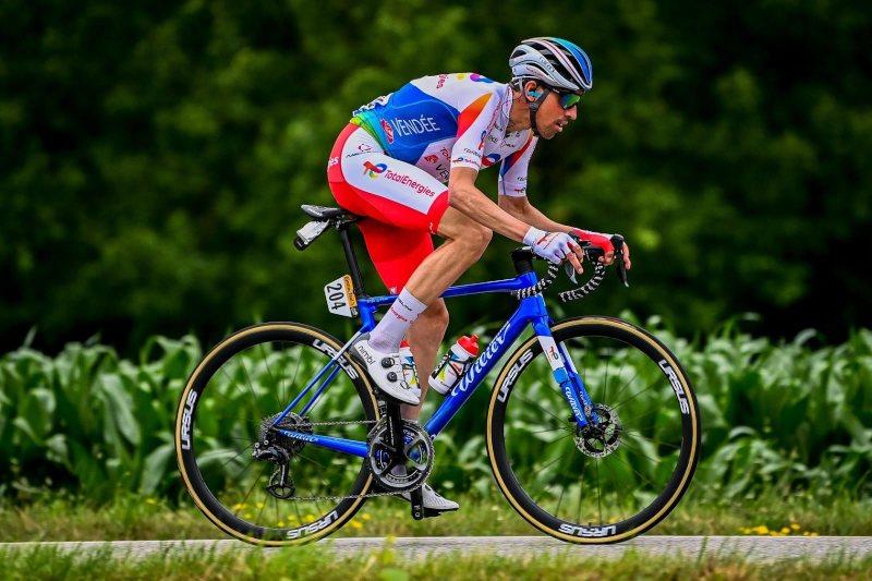 Víctor de la Parte, durante el Tour de Francia.
