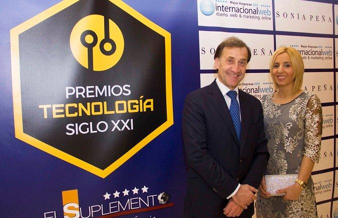 La Universidad Isabel I recibe en Madrid el Premio Nacional de Tecnología Siglo XXI de El Suplemento