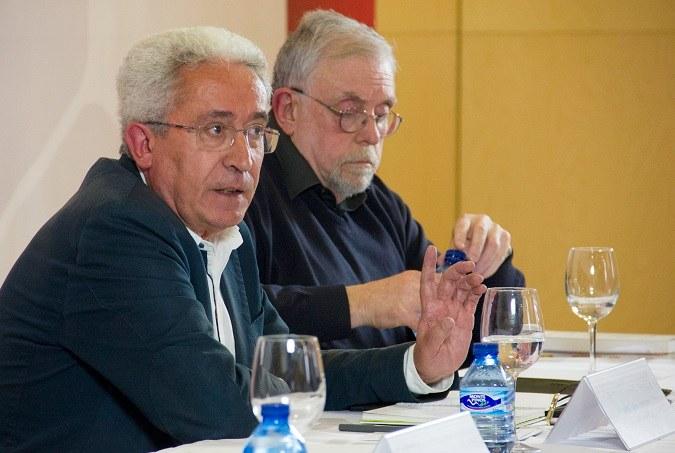 Aparicio y Granado debaten sobre el futuro de las pensiones en la Universidad Isabel I