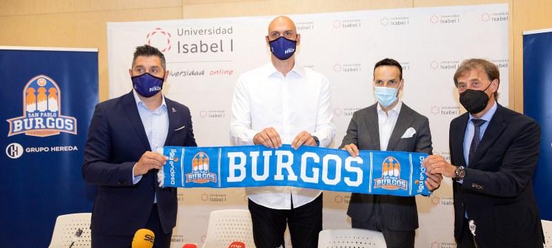 El Hereda San Pablo presenta a su nuevo entrenador en la Universidad Isabel I