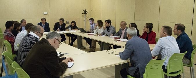 Reunión del Claustro de la Universidad Isabel I a la que han acudido  representantes de todos los estamentos de la institución académica