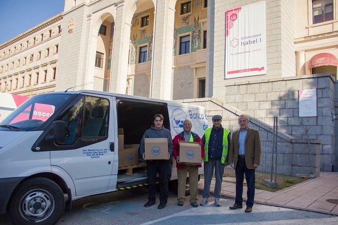 La Universidad Isabel I colabora en la Gran Recogida organizada por el Banco de Alimentos de Burgos