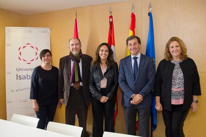 La Universidad Isabel I se reúne con la Fundación Luzón para explorar posibles acuerdos de colaboración en materia de formación