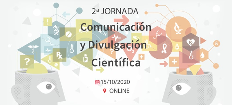 portada del congreso de comunicación y divulgación científica 2020