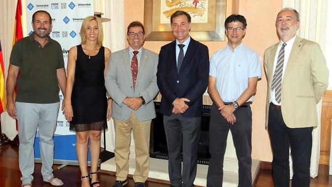 La Universidad Isabel I profundiza en los acuerdos de colaboración que mantiene con la Universitat de Les Illes Balears