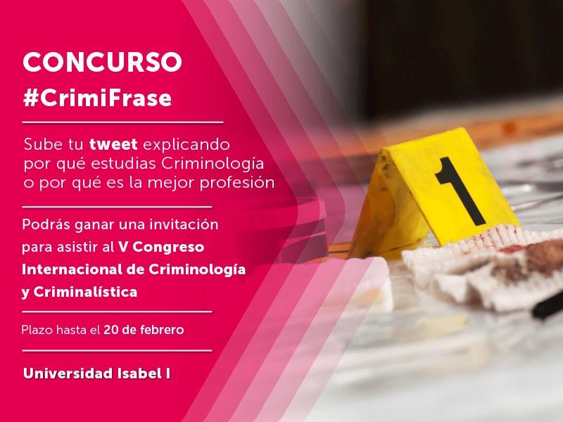 V Congreso Internacional de Criminología y Criminalística