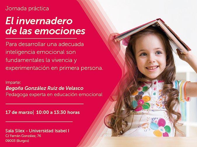 La Universidad Isabel I organiza la jornada El Invernadero de las Emociones el sábado 17 de marzo