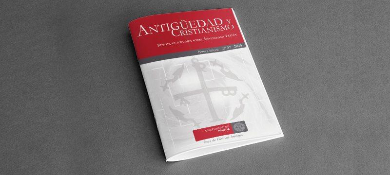 Revista científica Antigüedad y Cristianismo de la Universidad de Murcia