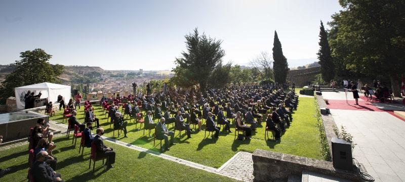 Acto de homenaje de la Junta de Castilla y León a las víctimas del Covid-19