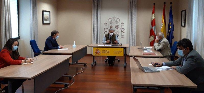 Reunión del Rector de la Universidad Isabel I y el subdelegado de Gobierno en Burgos para tratar el CIUDEN