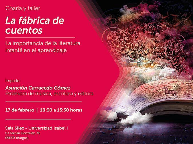 La Universidad Isabel I organiza la jornada La Fábrica de Cuentos el sábado 17 de febrero