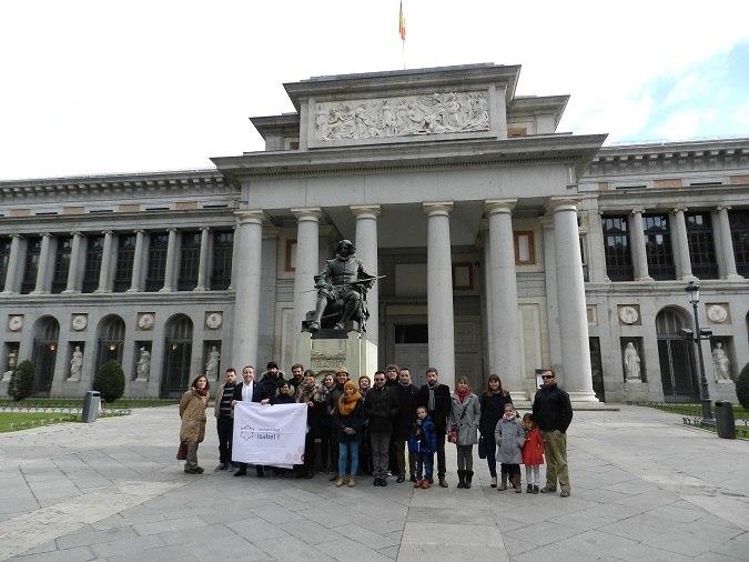 La Universidad Isabel I visita el Museo del Prado