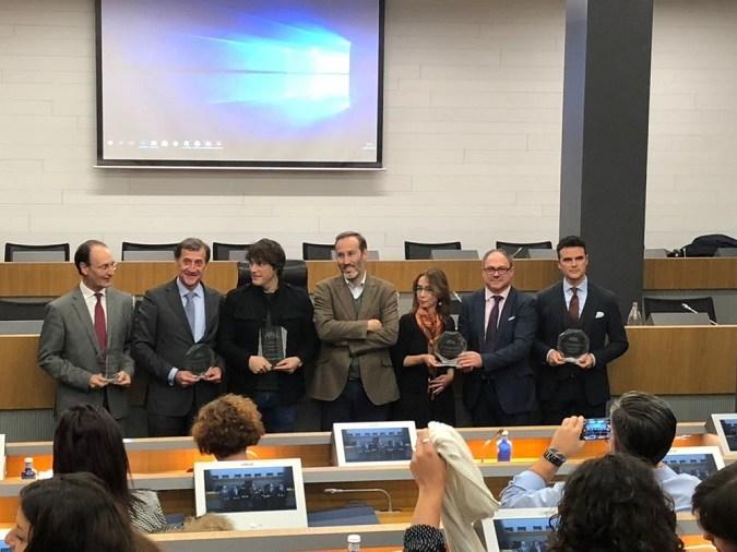 El rector recoge en Madrid el sexto premio que recibe la Universidad Isabel I en dos años