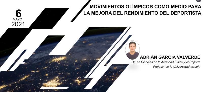 conferencia de Adrián García Valverde