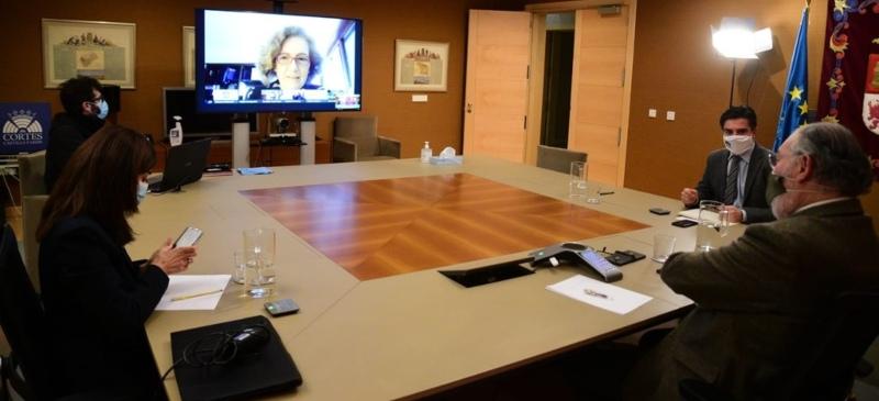 Reunión telemática del V centenario movimiento comunero