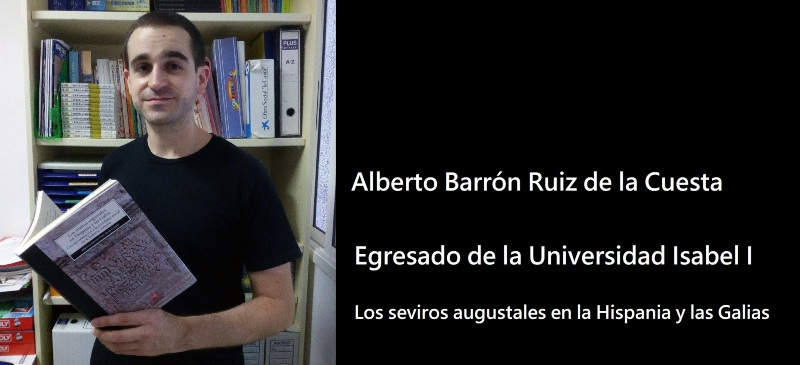 Alberto Barrón Ruiz de la Cuesta, egresado de la Universidad Isabel I