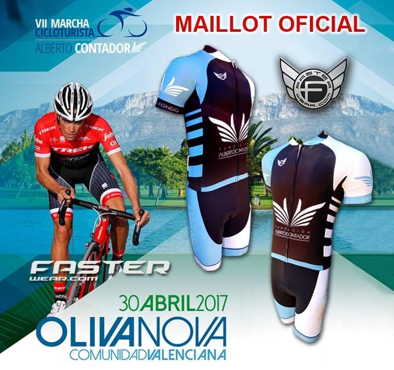 Maillot de Alberto Contador