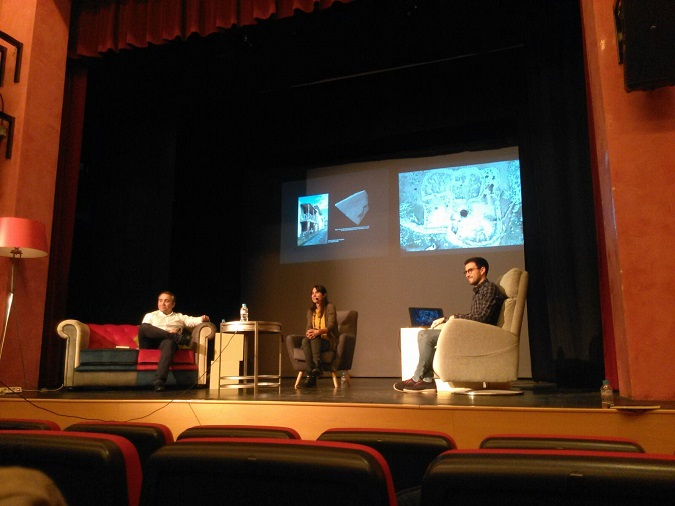 Alberto Romero participando en el programa Arqueología de Sofá