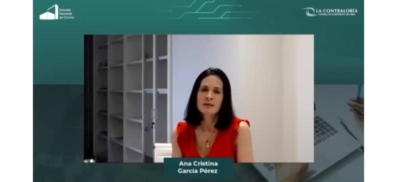 Ana Cristina congreso Peru