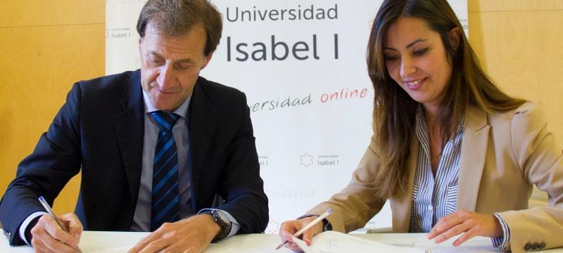 Firma del convenio de colaboración entre la Universidad Isabel I y la ANAC