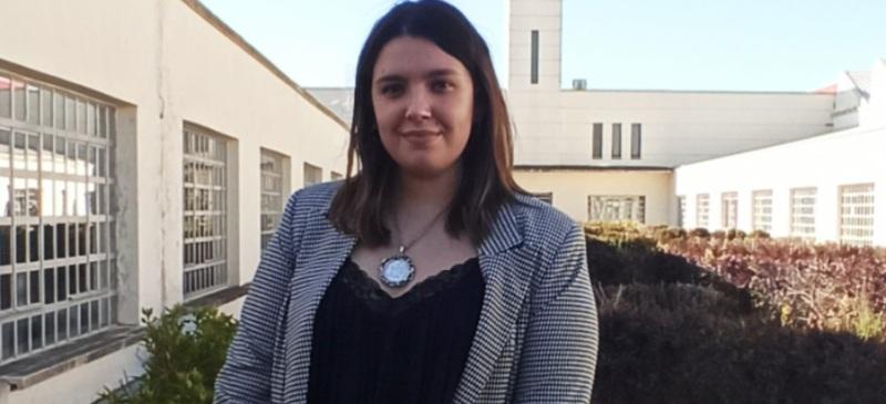 Andrea Castrillo, ganadora del Premio Lab Emprendimiento Jurídico.