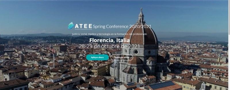 Anna Sánchez Caballé participa en el Congreso Internacional ATEE que se celebra online en la Universidad de Florencia