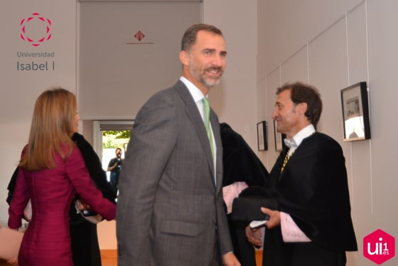 Don Felipe asistió a la apertura de curso en Toledo