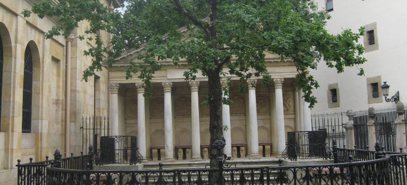 Imagen del árbol de Guernica,