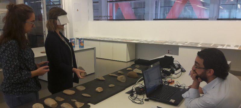 Marcos Terradillos Bernal forma parte del equipo que ha estudiado la respuesta cognitiva al usar instrumentos prehistóricos.