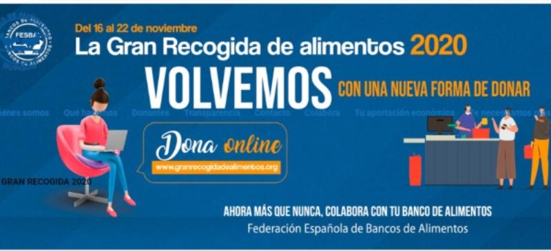 Campaña de la Gran Recogida del Banco de Alimentos y la Universidad Isabel I