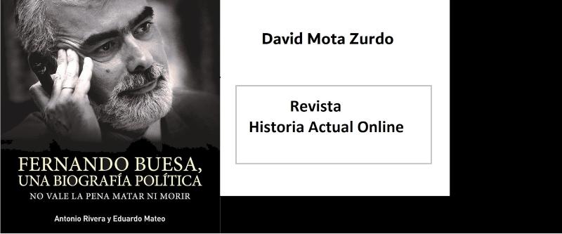 Fernando Buesa, portada de su libro.