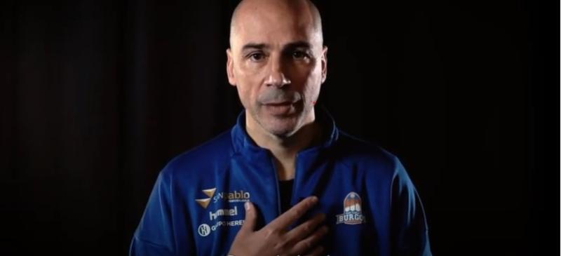 Joan Peñarroya en uno de los vídeos de la campaña contra la violencia de género