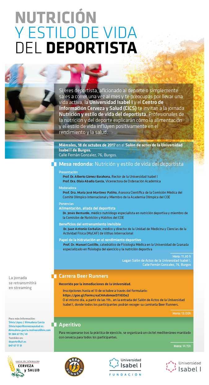 Universidad Isabel I, ui1, nutricion, deporte, centro informacion cerveza salud