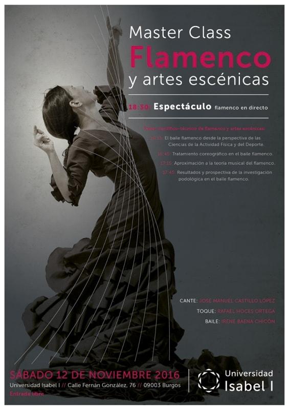 'Master class' y espectáculo en torno al flamenco en la Universidad Isabel I