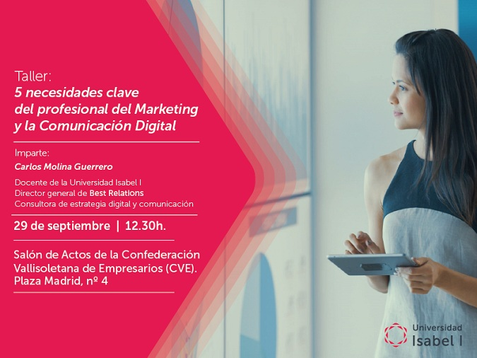 Universidad Isabel I, ui1, cve, marketing digital, valladolid