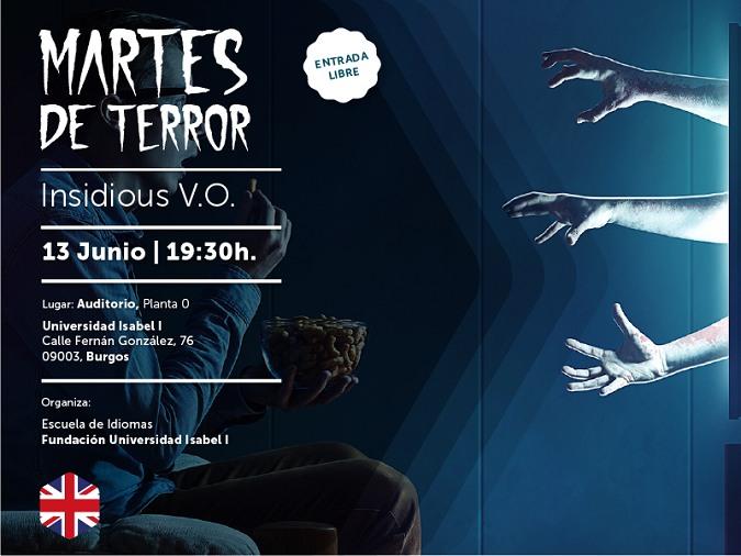 Cine de terror en la Universidad Isabel I